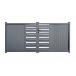 Portail aluminium Cardiff