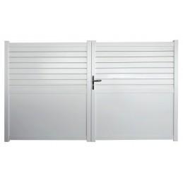portail Manchester 3m blanc