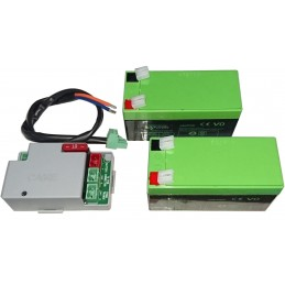 batterie 2x 12V pour moteur CAME coulissant First line UOPS2000
