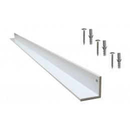 cornière 40x40 blanche
