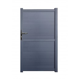 portillon Oxford 1m gris, hauteur : 1.75m