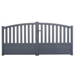 portail Hastings gris 3m